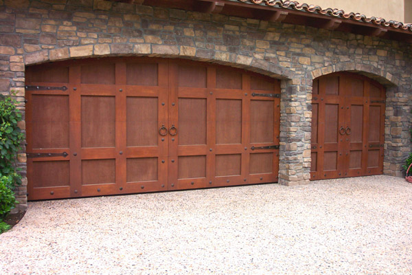 Custom Wood Carriage House Garage Doors